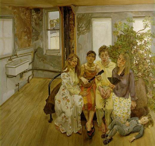 Lucian Freud, The Interior